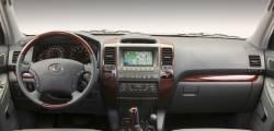 Lexus GX series dashboard
