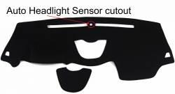 Jeep Cherokee dash cover with Sensor Cutout