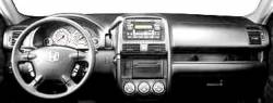 Honda CRV dashboard