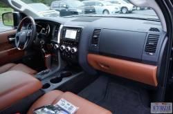Toyota Sequoia dashboard passenger side view