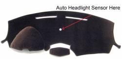 Cadillac SRX dash cover - Display raises up version
