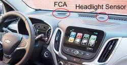 Chevy Equinox dashboard optional features