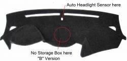 Hyundai Santa Fe dash cover, version NO storage box on dash