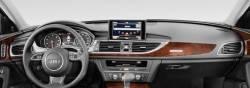 Audi A6 & A7 dashboard, display screen up