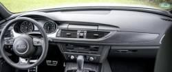 Audi A6 & A7 dashboard, display screen down