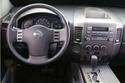 Nissan Titan dashboard version Small Display and Storage Bin