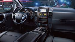 Nissan Titan dashboard version 09-122 Large Display rising above dash and no Bin behind