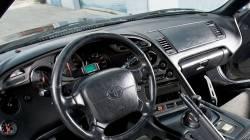Toyota Supra dashboard showing sensor