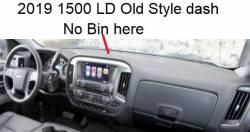 Old Style Silverado LD dashboard
