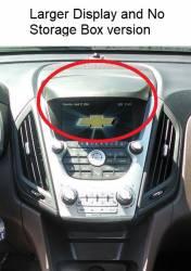 "Equinox dashboard closeup ""B"" version Large Display"