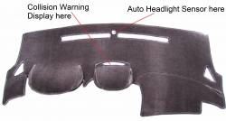 """Equinox """"C"""" version dash cover with Collision Warning Display"""