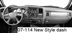 Chevy New Style dashboard