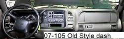 Chevy Classic Old Style dashboard