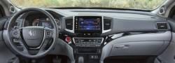 Honda Ridgeline dashboard