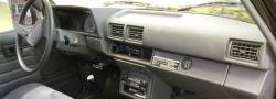 Toyota 4Runner dashboard version No Inclinometer