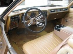 1977 Olds Cutlass dashboard