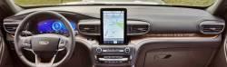 "Ford Explorer dashboard 12"" display version"
