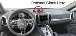 Porsche Cayenne dashboard - B version With Clock