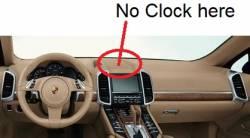 Porsche Cayenne dashboard - A version No Clock