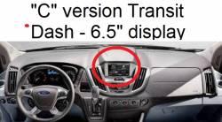 "Ford Transit dashboard ""C"" version"