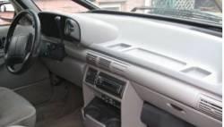 Chevy Lumina Van dashboard