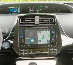 Toyota Prius Small Display closeup