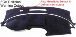 Buick Enclave dash cover