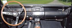 Plymouth Roadrunner dashboard 1969