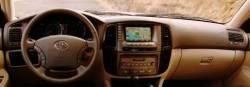 Toyota Landcruiser dashboard