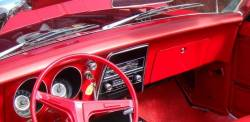 1967 Chevy Camaro dashboard