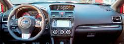 Subaru WRX dashboard example