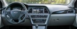 Hyundai Sonata (non-Hybrid version) dashboard