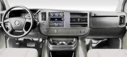 Chevy Express Full Size Van dashboard