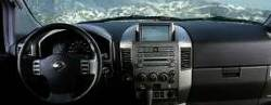 Nissan Armada dashboard with Large Display