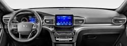 "Ford Explorer dashboard 8"" display version"