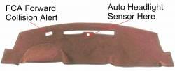 GMC Sierra Pickup dash cover
