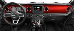 Jeep Gladiator dashboard