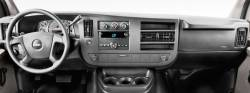 GMC Savana dashboard front view