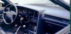 Toyota Supra dashboard