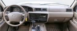 Early version Landcruiser dashboard