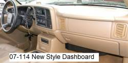 GMC Sierra New Style version dashboard