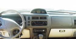 Mitsubishi Montero Sport dashboard with optional Gauge package