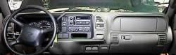 Chevy Suburban dashboard
