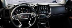 GMC Canyon dashboard