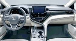 """Toyota Camry dashboard with Optional 9"""" display"""