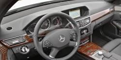 Mercedes E Class dashboard