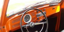 VW Beetle dashboard