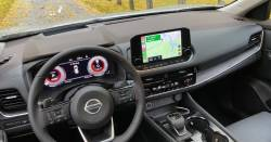 All New Nissan Rogue dashboard with optional HUD