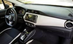 Nissan Versa sedan dashboard