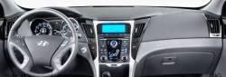 Hyundai Sonata Hybrid model dashboard